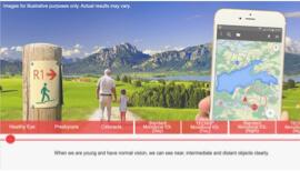 TECNIS<sup>®</sup> Vision Simulator Thumb